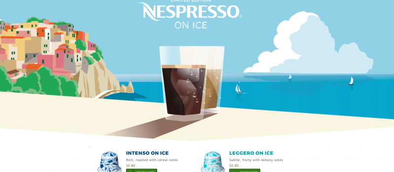 Nespresso on Ice – Limited Editions