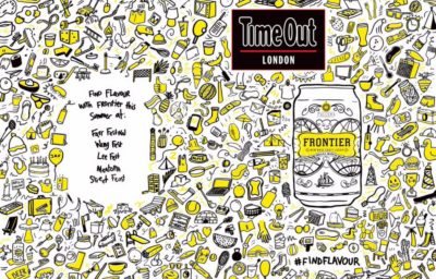 Fuller's Frontier partners Time Out